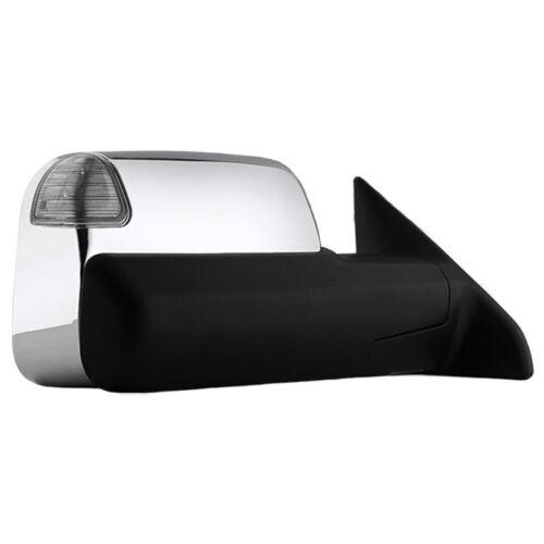 2500 3500 2009-2012 New Passenger Side Towing Mirror For Dodge Ram//Ram 1500