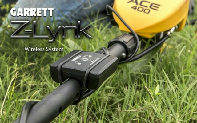 Garrett Z-Lynk Wireless System for metal detector headphones Z-Link