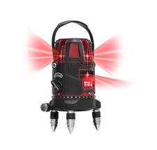 Multi Line 6 Beam Self Leveling Laser Level With 360 Rotating Base Amp Carry Case