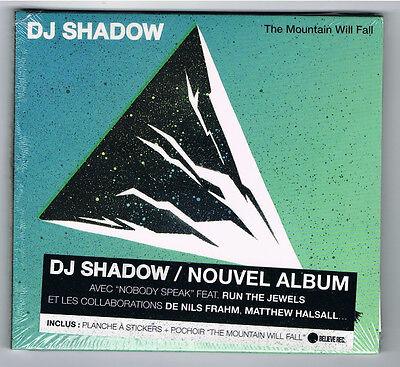 DJ SHADOW - THE MOUNTAIN WILL FALL - CD 12 TITRES - 2016 - NEW NEUF NEU