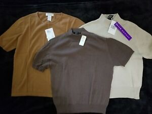 New Sleeve Short Sweaters 3 Of Lot Large xaqUz6gw
