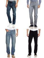 Levis 504 Jeans Mens Regular Fit Straight Leg Low Rise Zip Fly Five Pocket Denim