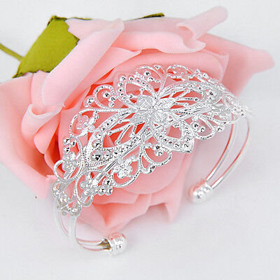 Free Shipping ! Best Sale Fashion Women Silver Bracelet Bangle As Party Gift