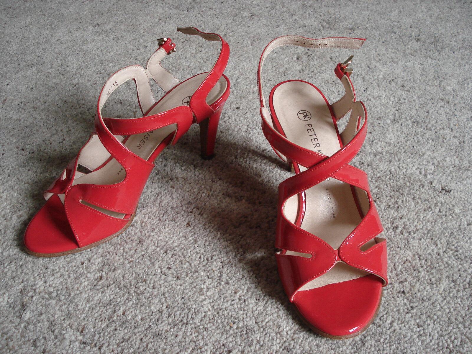 Sandalette von Peter Kaiser, rot, 37,5 / 4,5, Riemchen, rot, Kaiser, RAR 994ff9