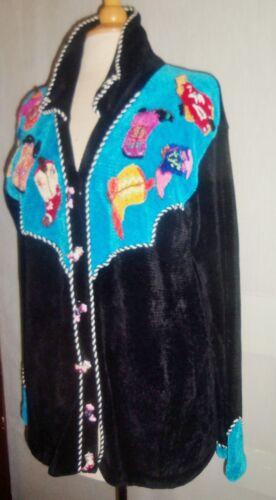 6 ~ Quel Stivali di ~ bottoni maglione L avvio Taglia motivo con ricamato z665q4OwxC
