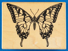 Swallowtail Butterfly Rubber Stamp by Visual Image Printery (VIP)