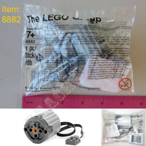 New LEGO TECHNIC Power Functions XL-Motor 8882 Creator Truck Crawler Gears