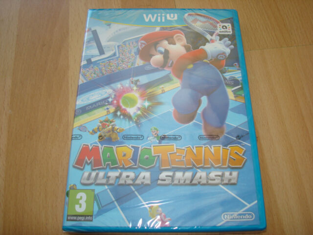 MARIO TENNIS ULTRA SMASH ** NEW & SEALED ** Nintendo Wii U Game