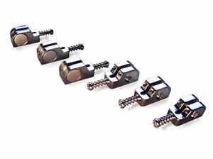 Ensoleillé Babicz Full Contact Hardware Selle Stratocaster Kit-chrome-afficher Le Titre D'origine à Vendre