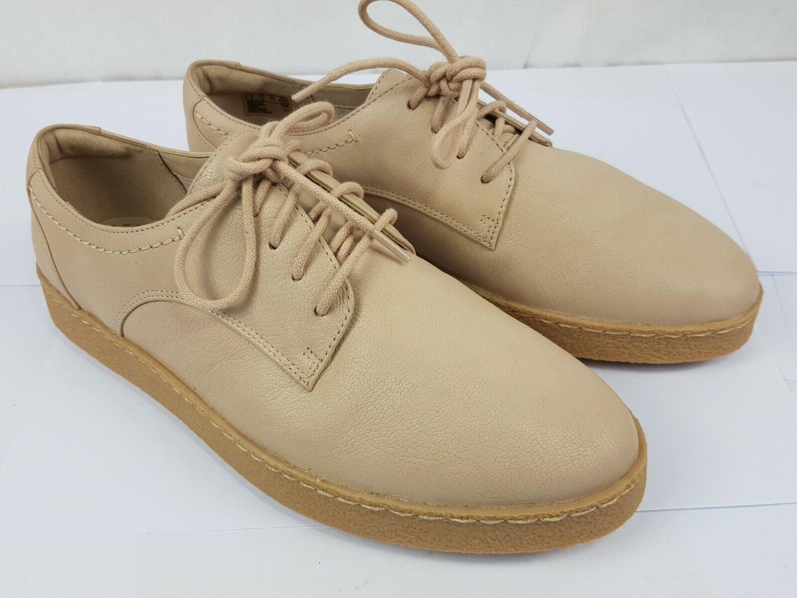 Clarks Pink Leather Womans Lace Up shoes Flats UK 5D Pre-worn Excellent Cond