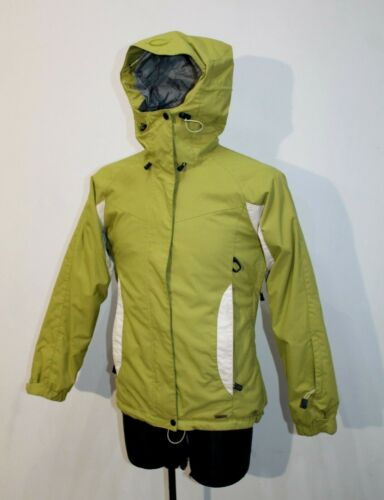 Uk White Insulated Finland Womens 38 Ski Eu Jacket Halti Hooded Us 8 Green nwq707ORW