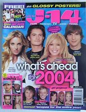 BRITNEY SPEARS / HILARY DUFF / ORLANDO BLOOM / BEYONCE /   2004 J-14 Magazine