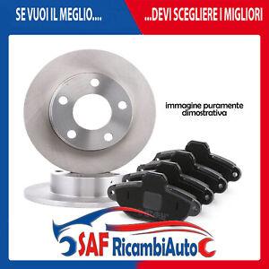 Bremsscheiben Bremsbeläge hinten für Fiat Punto Van 176L 188AX 188/_ 176 Lancia