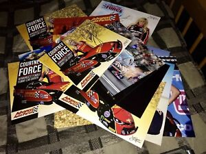 Courtney-Force-signed-autograph-Hero-Card-photo-lot-of-8-NHRA