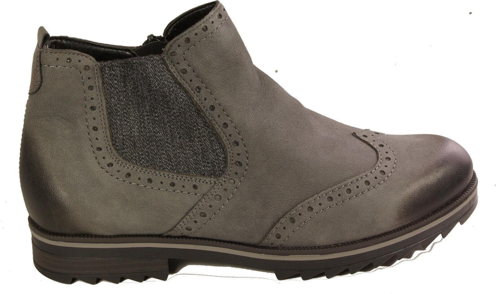 REMONTE Schuhe Stiefeletten Chelsea Ankle Boots  echt Leder Reißverschluss NEU