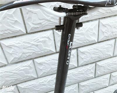 Litepro Carbon Fiber Seatpost For BROMPTON 31.8MM x 580MM  Seat Saddle Post