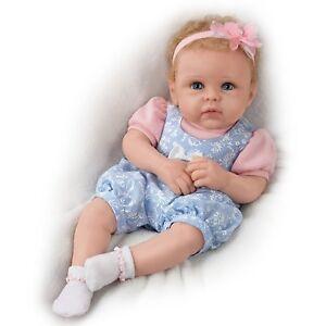 Image is loading Ashton-Drake-Little-Livie-Lifelike-Soft-Silicone-Baby- e84a6720c