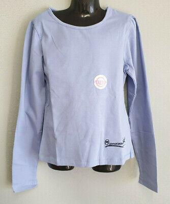 BNWT Girls Sz 10 Ozemocean Pretty Blue Long Sleeve Stretch Top