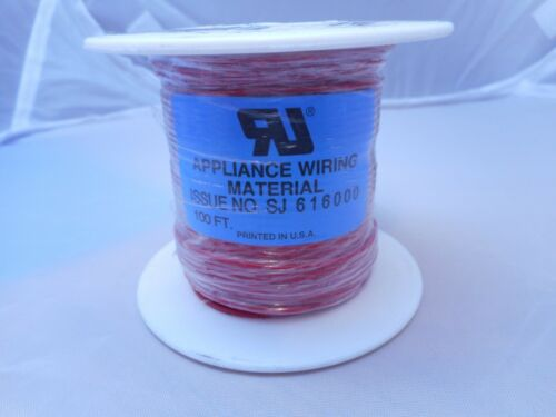 New Stock SPECIFY COLOR 7//32 3050-24AWG9 TC-BLACK OR RED  Wire 100 Feet
