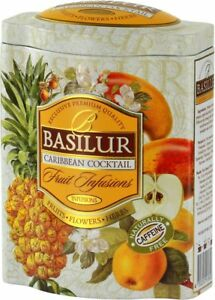 Basilur Fruit Infusions   Caribbean Cocktail Herbal Tea   Coconut, Hibiscus by Basilur