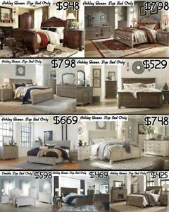 ASHLEY & IMPORT QUEEN SIZE BED & BUNK BED SALE Mississauga / Peel Region Toronto (GTA) Preview