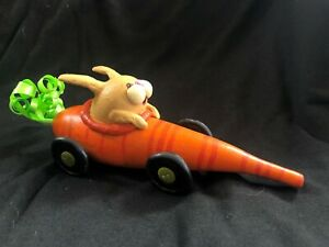Hand Painted Easter Bunny Spring Doll Gourd Carrot Car Special Auction Ebay