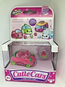 SHOPKINS-Cutie-Cars-Motor-Melon-New-in-BOX-RARE-with-Mini-Shopkin-Exclusive