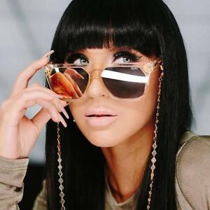 2c89dc3699 Details about QUAY X JACLYN HILL VERY BUSY SUNGLASSES BLACK CHAMPAGNE ROSE  CLEAR - AUTHENTIC