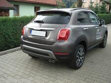 FIAT 500X Scarico Sportivo Omologato 2x70 mm