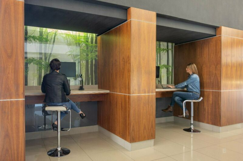 24/7 access to designer office space for 4 persons in SPACES Broadacres