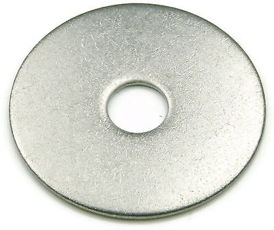 Qty 250 Stainless Steel Fender Washer #6 x 5//8