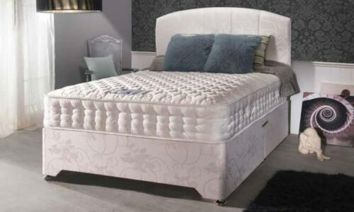 4FT6 SLUMBERDREAM CANTERBURY ORTHOPAEDIC DIVAN DOUBLE BED WITH ORTHO MATTRESS