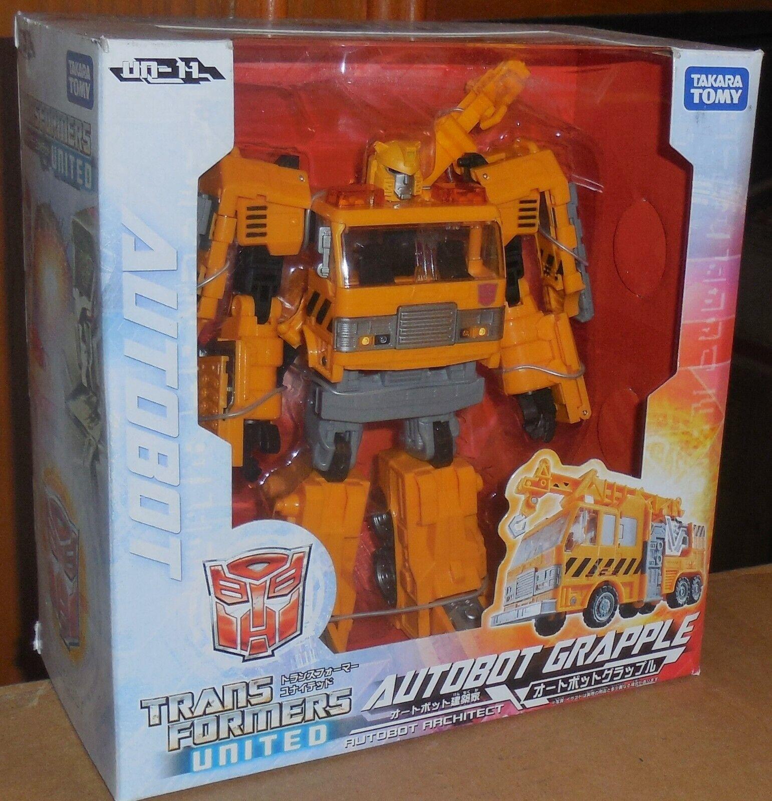Transformers Takara United Grapple Misb Neu Un-11 Voyager