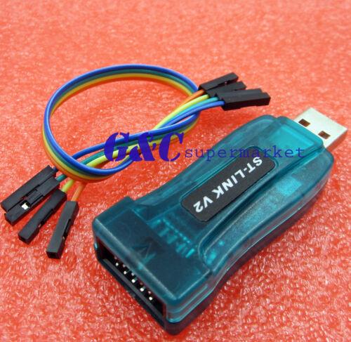 2PCS USBASP USBISP AVR Programmer Adapter 10 Pin Cable USB ATMEGA8 128  M120