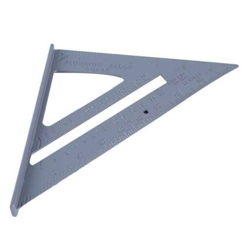 90Degree Zinc Alloy Right Angle Student Clamp Square Measure Ruler Tools WS