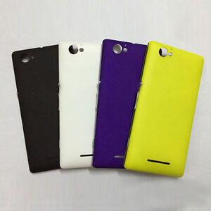 uk availability bfaa7 8c721 Details about Rear Back Battery Cover Case For Sony Xperia M C1905 C1904  C2004 C2005