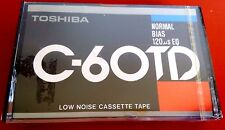 CASSETTE TAPE BLANK SEALED - 1x (one) TOSHIBA C-60 TD - Japan RARE - Boombox