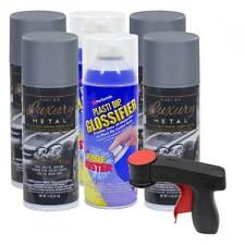 Plasti Dip Luxury Metal Amp Gloss Rim Kit Selenite Gray