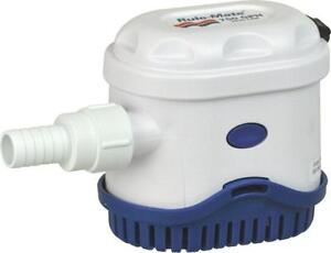 Rulemate-1100-Automatico-12v-Achique-Agua-bomba-1100gph-RM1100A-Sumergible