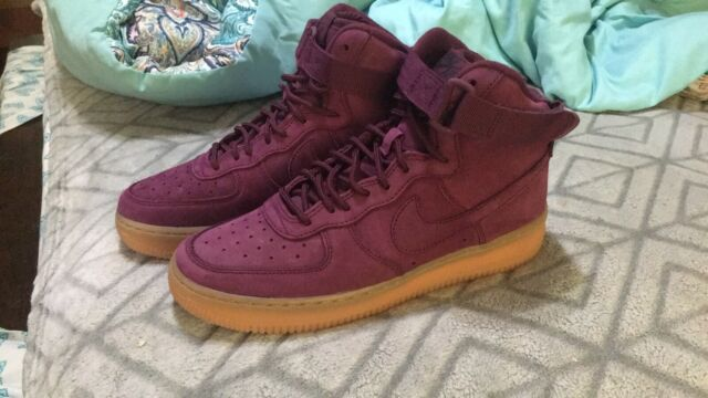 Nike Air Force 1 High WB bordeauxbordeaux 922066 600 Women's Shoes