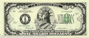100 MILLION DOLLAR BILLS NOVELTY NOTES REPLICA MONEY JOKE MENS CHRISTMAS PRESENT