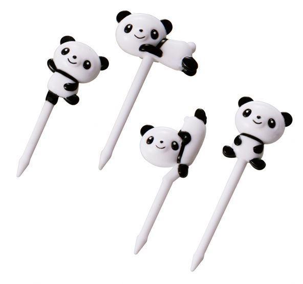 Cute Panda Food Picks for Japanese Bento Lunch Box