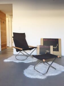 Takeshi Nii Ny Rocking Chair And Ottoman Mint