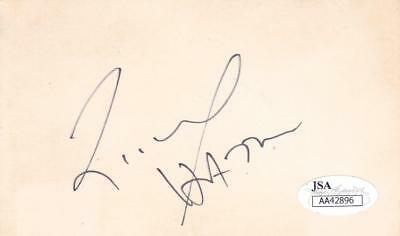 Autographs-original Movies 2002 Signed 3x5 Index Card Actor/harry Potter Aa42896 To Produce An Effect Toward Clear Vision Richard Harris D