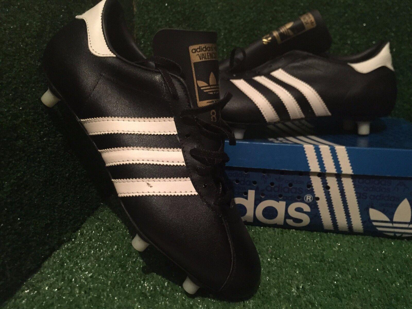 BN Adidas vintage Valencia football Stiefel Soccer schuhe 8,5 8,5 8,5 9b6cd1