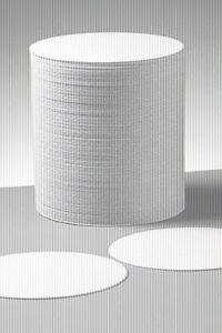 Bierfilz-Bierdeckel-neutral-rund-10-7cm-5-Stueck-Filzdeckel-601