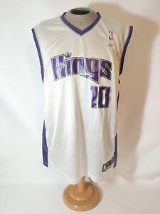 Vintage Reebok Sacramento KINGS  10 Mike Bibby NBA Jersey Men s Size ... 4ff25d01a