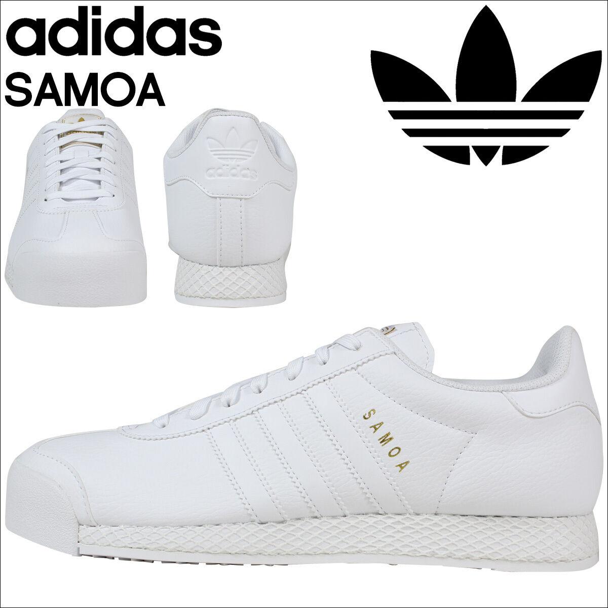 Adidas Originals SAMOA Retro White  Uomo Trainers F37599 NEW