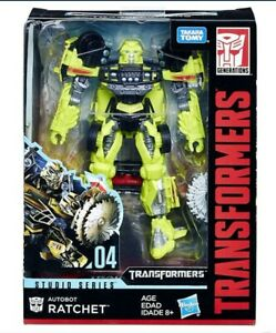 Hasbro Transformers Studio Séries 04: Autobot Ratchet 11cm Figurine (E0744)