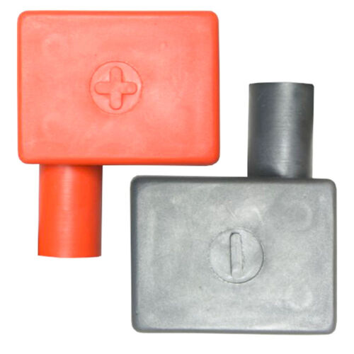 High Quality PVC Battery Terminal Covers Flag-Right Hand Fits Std All Variations